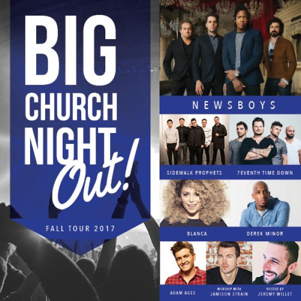 Big Church Night Out with Newsboys - Estero, FL 2017