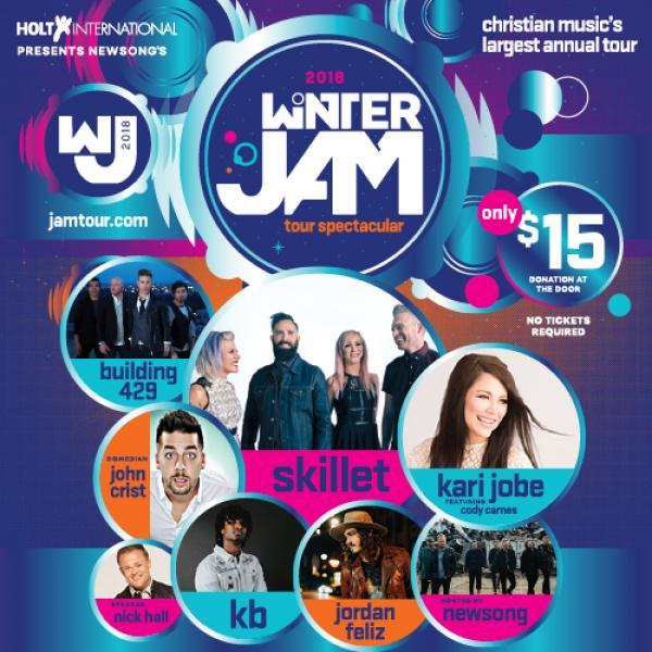 Winter Jam Tour Spectacular 2018 - Knoxville, TN 2018