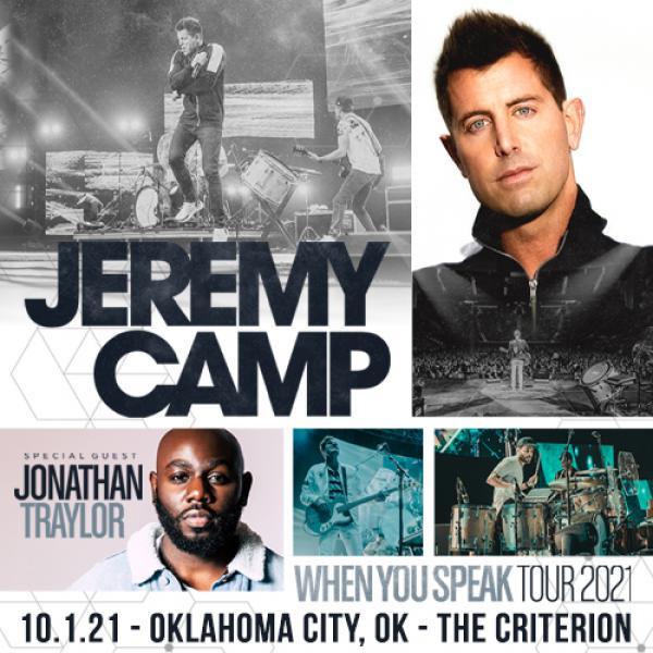 Jeremy Camp - When You Speak Tour 2021 - Oklahoma City, OK 2021
