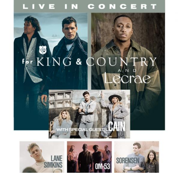 For King & Country and Lecrae - Live in Concert! - Philadelphia, PA 2021