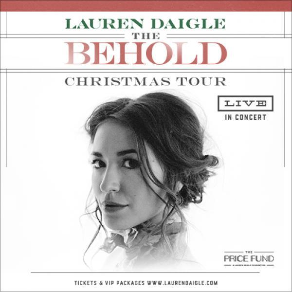 Lauren Daigle - The Behold Christmas Tour - Chattanooga, TN 2021