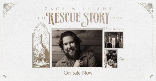 Zach Williams - Rescue Story   The Tour