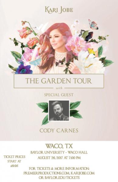 Kari Jobe - The Garden Tour  - Waco, TX 2017