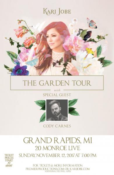 Kari Jobe - The Garden Tour  - Grand Rapids, MI 2017