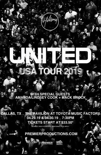 Hillsong UNITED USA Tour 2019 - Dallas, TX 2019