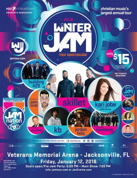 Winter Jam Tour Spectacular 2018 - Jacksonville, FL 2018